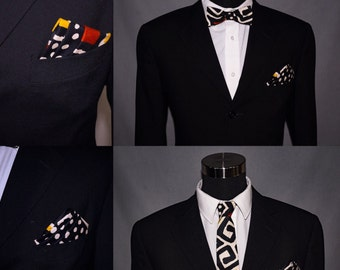 Wooden Tie.....Bow tie......pocket square