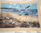 Shorebirds Collection,  Fabric Panel for Wall Hanging, Quilting,  A VIP Cranston Print