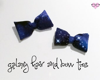 Galaxy Hair and Bowties