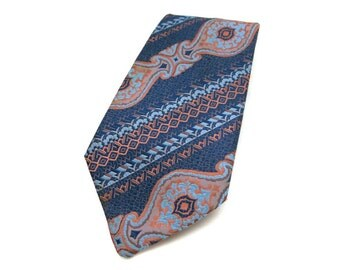 Silk tie mid century fashion - tie - exclusiv design germany - fashion for men
