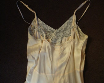 vintage silk full slip