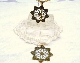 Star Earrings / women's jewelry / teen jewelry / women / Pierced earrings / 8 points