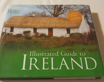 Reader's Digest, Illustrated Guide to Ireland vintage Book