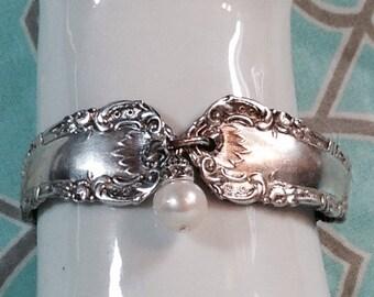 1880s Victorian spoon bracelet