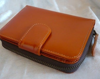Woman Leather Clutch Wallet, Leather Wallet, Leather Purse Wallet