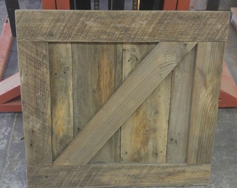 Barn Wood Pantry, Cabinet, and Closet Doors