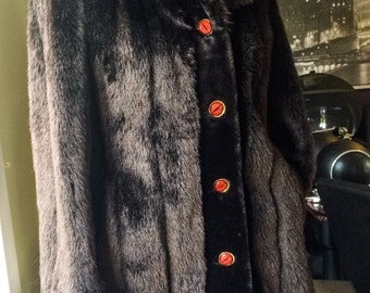 Warm Canadian Vintage Faux Fur