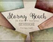 Stormy Beach - Fine Art Textures, Photoshop Textures
