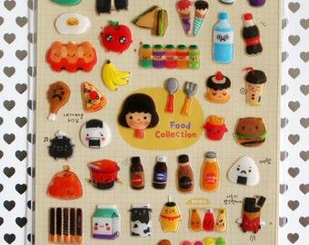 Food Collection Sticker Sheet