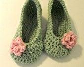 dark teal slippers