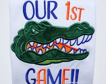 Fl gators swamp etsy for Florida gators the swamp shirt