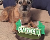 Custom MACH , C-ATCH , Agility Dog Sculpture Using Your Photos