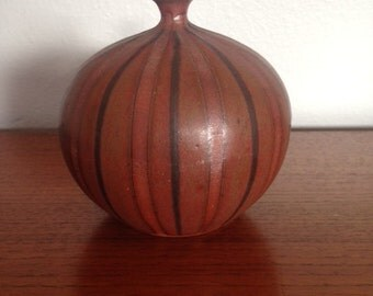 Mid Century pottery weed pot