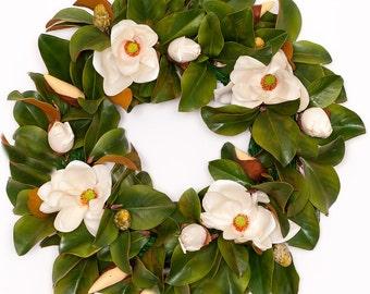 Magnolia Wreath - 30 inches (SW247)
