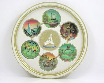 Vintage Walt Disney World Tray