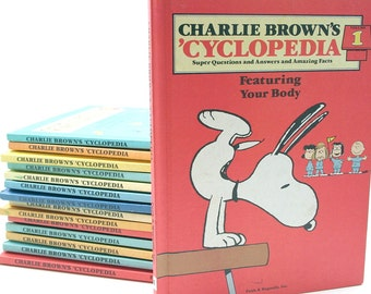 Charlie Brown's 'Cyclopedia - Set of 15