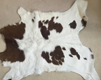Genuine Uruguayan Cow Hide Rug - brought back from the Estancia