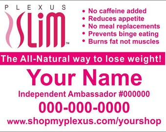Plexus Slim Yard Sign