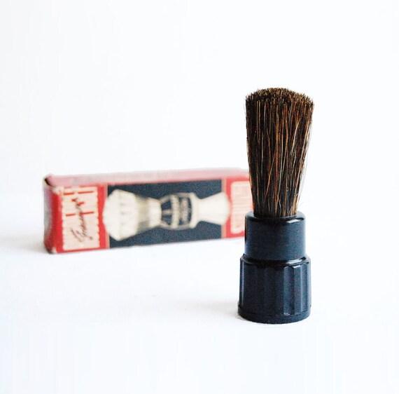 Unused - 1950's Rubberset Horsetail Hair Shaving Brush