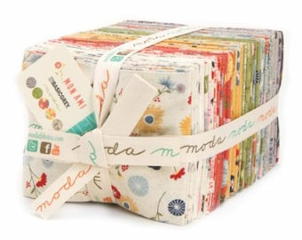 MON AMI Fat Quarter Bundle (40) by Basic Grey for Moda