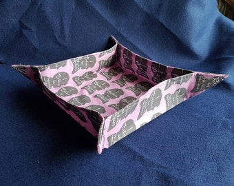 Sherlock inspired fabric basket