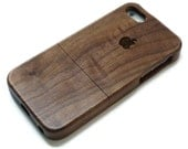 Iphone 7 case wood - wooden iphone 7 case walnut, cherry or bamboo wood