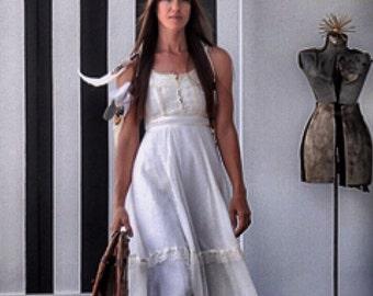 Gunne sax prairie dress, vintage wedding dress, boho wedding.