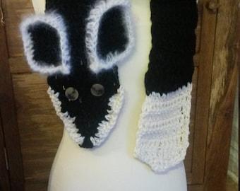 Russian fox scarf