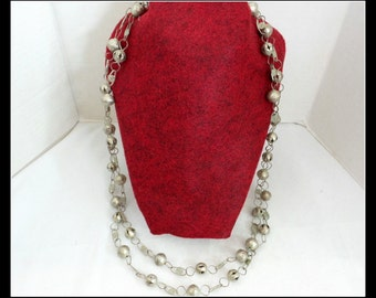 Vintage Mexican Metal Necklace