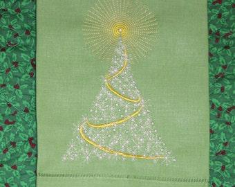 Christmas Linen Guest Towels