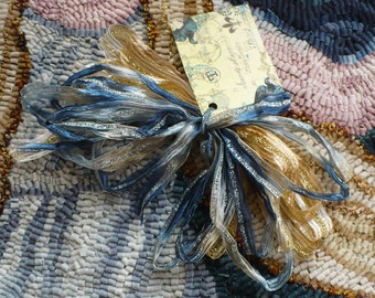 Sari Ribbon for Rug Hooking 'Dream'