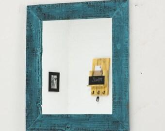 Barnwood Mirror (11 X 14)  Outside Dimensions: 17 x 20