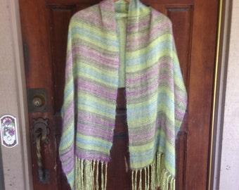 Hand Woven Silk and Kid Mohair - Lightweight yet warm!