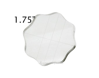 """1.75"""" Round Acrylic Stamping Block - Lawn Fawn - 053578"""