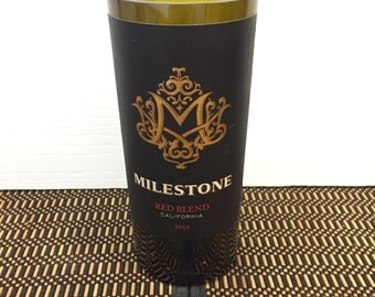 Wine Candle Milestone Handmade Recycled Gift Choose Scent