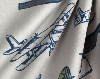 One pair of Airplane curtains
