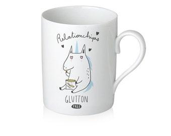 """Mug Unicorn """"Relationchips"""""""
