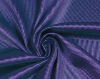Purple Polyester Dazzle Fabric Sports Mesh Fabric , Football Fabric, Soccer Fabric, Basketball Jersey Fabric - 1 Yard Style 20010