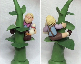 Jack and the Beanstalk Fimo Figurine