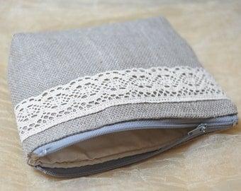 Women Purse Burlap Womens Clutch Linen Lace Bag Purses Evening Messenger Pouch Small Clutch Everyday Purse