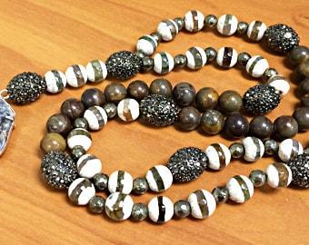 Gunmetal Oval Pave Bead Black Diamond Hematite AAA quality beads 17mm x 12mm, 2.5mm Hole, Pave Hematite Egg, Choose Quantity, BMP-OvaHem
