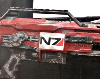 Mass Effect Inspired Nerf Gun