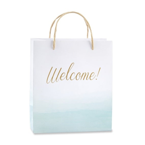 Wedding Gift Bags Beach Theme : ... Bags Beach Theme Wedding Gift Bags Bridal Shower Gift Bags Bridesmaid