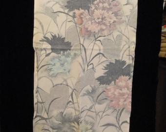 SF698 Wild Dahlias Silk Fabric