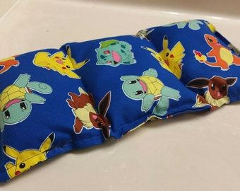 Pokemon Fabric, Microwavable Hot and Cold Pack.