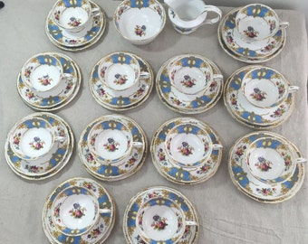 English Tea Service for 12