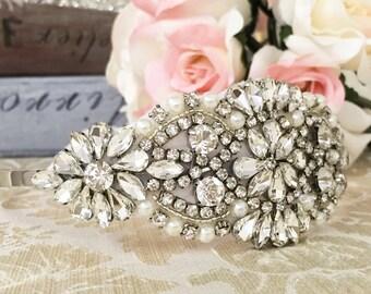 Bridal Haircomb, Wedding Haircomb, Bridal Hair Accessories, Crystal Haircomb, Rhinestone Haircomb, Bridal Head Piece