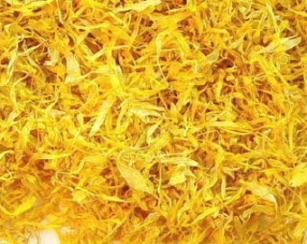 CALENDULA PETALS Organic Dried, 1-10 Cups, Just Petals, No stems, No calyx, No stalk