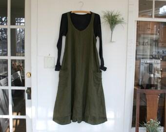 Washable Linen / 'ZOE' Linen Dress /  by Breathe Clothing