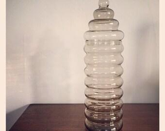 Tall Holmegaard Jacob Bang Primula Jar